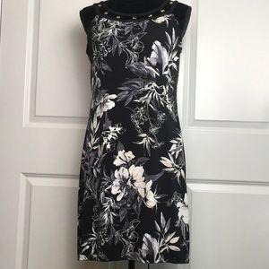 White House Black Market Lined Floral Dress